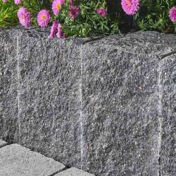 Granit Sichtschutz Element 10 x 50 cm ale Grundstück Sichtschutz